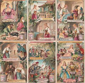 Original Liebigbilder Serie Nr. 305 von 1895 - Schneewittchen - guter Zustand