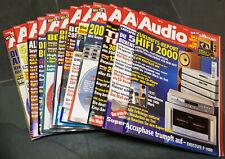 Zeitschrift AUDIO 1999, Magazin für HIFI, 12 Hefte, kompletter Jahrgang