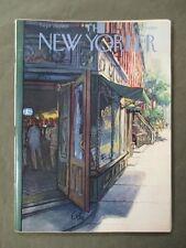 Vintage New Yorker Magazine September 29 1956  Arthur Getz cover art