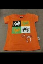 Boy's Shirt by Charlie Rocket Orange Crab 3 - 6 Months