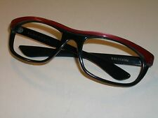 BAUSCH & LOMB RAY BAN TWO TONE BALORAMA WRAP SUNGLASSES/EYEGLASS FRAME ONLY ++