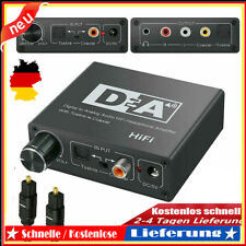 Digital Analog Audio Wandler Coaxial / Toslink zu Cinch RCA R/L 3.5MM Konverter