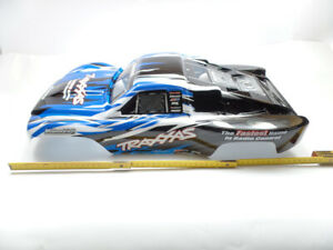 TRAXXAS Slayer Pro 4x4 5925 Body Blue Painted Laminated TR3®