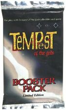 TEMPEST OF THE GODS - CCG - BOOSTER PACK - LIMITED EDITION