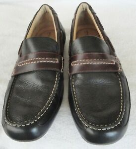 Sperry Top Sider Men's #238360 Brown Leather Slip-On Navigator Mocs Size 11 M
