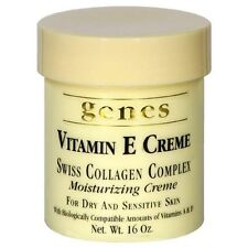 Genes Vitamin E Creme Swiss Collagen Complex Moisturizing Creme for Dry and Skin