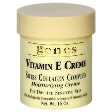 Genes Vitamin E Creme Swiss Collagen Complex Moisturizing Creme for Dry and Skin