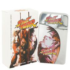 Capcom Street Fighter Cologne Men 3.3 oz Eau De Toilette Spray Fragrance New