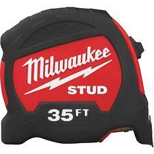 Milwaukee 48-22-9735 STUD 35 ft.Tape Measure New!