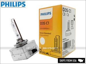 Philips HID Standard D3S OEM Headlight Bulb w/ COA label 4300K 42302C1 Pack of 1
