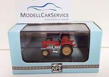 Npe Modellbau 1/87: NA99024 Tractor Schlüter S 350, Red - Resinfertigmodell