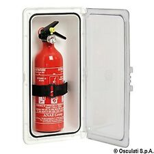 Fire Extinguisher Compartment Housing Locker with Watertight Clear Door