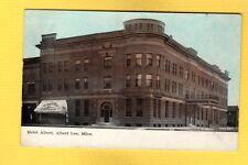 Albert Lea,MN Minnesota, Hotel Albert AQUILAS CIGARS awning