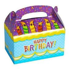 24 HAPPY BIRTHDAY TREAT BOXES Party Loot Goody Gift Bags #SR52 FREE SHIPPING