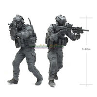 Unpainted 1:35 US Army Special Forces Soldier Resin Figure Model Garage Kit HOT