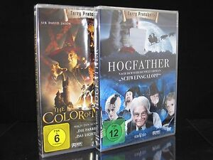+ DVD THE COLOR OF MAGIC + HOGFATHER SCHWEINSGALOPP - TERRY PRACHETT 2 DISC SET