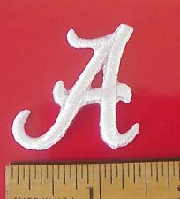 """Alabama Crimson Tide embroidered Iron On 1 1/2"""" x 1 1/2"""" Cap/ Polo Shirt Patch"""