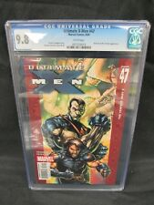 Ultimate X-Men #47 (2004) Nick Fury / Mr. Sinister App. CGC 9.8 White Pages C870