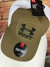 Under Armour Accessories Mens Bow Hunt Cap- ONE SIZE STEALTH GRAY/BLACK