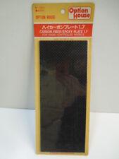 Kyosho Vintage Option House W-1001 Carbon-Fiber/Epoxy Plate 1.7 100% Brand New