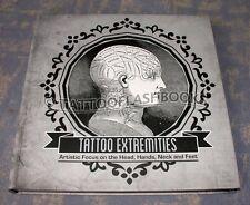 TATTOO EXTREMITIES Mike Devries  Tattoo Flash Book Gun Kit INK Needles Machine