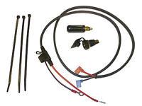 "DIN/Hella type 12V Accessory Power Socket 1.2m (48"") Loom + Plug (Mini Blade)"