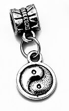 LOOK Authentic Sterling Silver dangle charm European BEAD Chinese Yin Yang