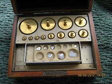 Albert Rueprecht & Sohn Wien,IV/2 weights,scientific/pharmaceutical,XIX century