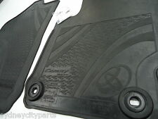 TOYOTA CAMRY FLOOR MATS FRONT RUBBER PAIR ASV50 AVV50 NEW GENUINE ACCESSORY