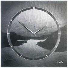 AMS 47 Reloj De Pared cuarzo oficina y la Sala Estar Pizarra schieferuhr