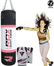 RDX Empty Zero Impact G-Core Heavy Duty Punching Bag Kick Boxing Gloves Women U