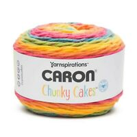 Rainbow Jellys Caron Chunky Cakes Self Striping Yarn 297 yd/271 m 9.8 oz/280 g