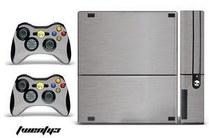 Skin Decal Wrap for Xbox 360 E Gaming Console & Controller Sticker Design STL