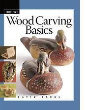 Fine Woodworking DVD Workshop: Wood Carving Basics by David Sabol (2008,...