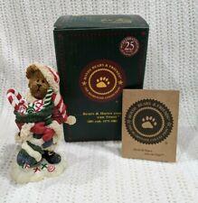 "Boyds Bears ""Kandy Kris Sweet Stuffins"" #228440 Christmas Santa Filling Stocking"