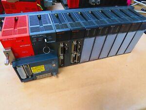 Mitsubishi Melsec A1S61PN, A2SHCPU, A1SD75M2,A1SD75M3, A1SX40,A1SY50, GP070-MD11