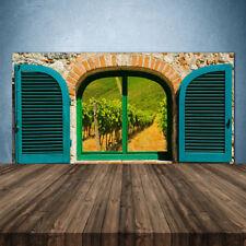 Crédence de cuisine en verre Panneau 140x70 Paysage Fenêtre