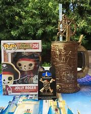 FUNKO POP JOLLY ROGER PIRATES OF THE CARIBBEAN STEIN DEAD MEN TELL NO TALES PIN