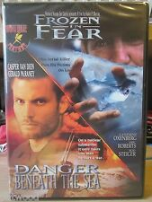 Double Feature: Danger Beneath the Sea / Frozen in Fear (DVD, 2004), NEW