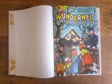 Wunderwelt, Die Zeitung für Buben und Mädchen, Jg. 1955, gebunden