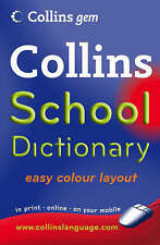 School Dictionary by HarperCollins Publishers (Paperback, 2008)