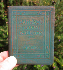 LITTLE LEATHER LIBRARY Barrack Room Ballads KIPLING Vintage Book Literature