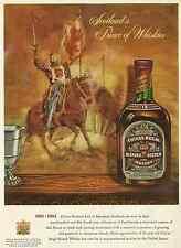 CHIVAS REGAL BLENDED SCOTCH WHISKY 1955 VINTAGE MAGAZINE AD  INV#187