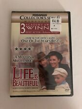 Life Is Beautiful Dvd New Sealed bonus materials widescreen