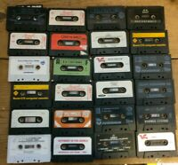 Joblot Bundle Of 24x Commodore 64, Spectrum, VIC-20 & Amstrad CPC game tapes