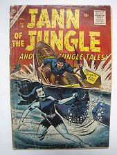 Jann of the Jungle #14 (Dec 1956, Atlas / Marvel) [GD/VG 3.0]