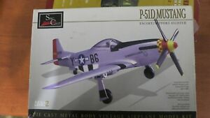 1:45 North American P-51 D Mustang model diecast  Metal Kit Spec cast