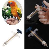 Futterspritze Zwangs-Fütterungsspritze für Papageien-Vögel  Injektor-Kanarie die