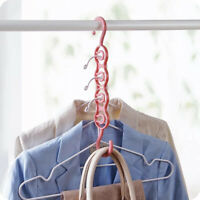 Easy Hook Layer Storage Scarf Hangers Drying Rack Clothes Hanger Circle Racks