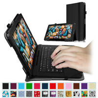 """Vegan Leather Folio Case Stand Cover For RCA 11 Maven Pro 11.6"""" (RCT6213W87DK)"""